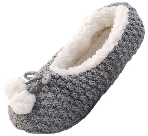 sherpa slippers womens sequin sherpa fur lined slipper socks