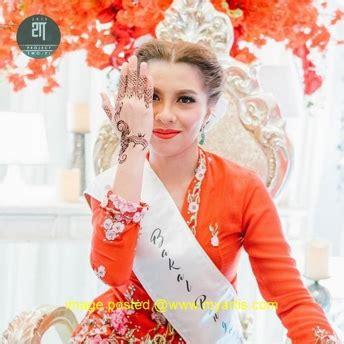 Baju Kahwin Jihan Muse trend baju pengantin terkini mybaju