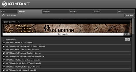 kontakt player full version download review apocalypse elements player edition from soundiron