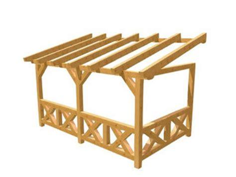 Holzpergola Selber Bauen by Pergola Terrassn 252 Berdachung Selber Bauen Holz Bauplan De