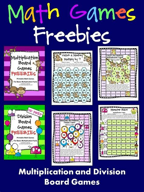 multiplication and division printable board games 47427 best images about math for third grade on pinterest