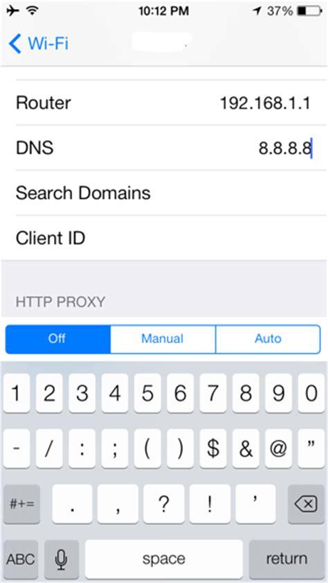 alamat host untuk simpati as cara mengubah alamat server dns pada iphone dan ipad