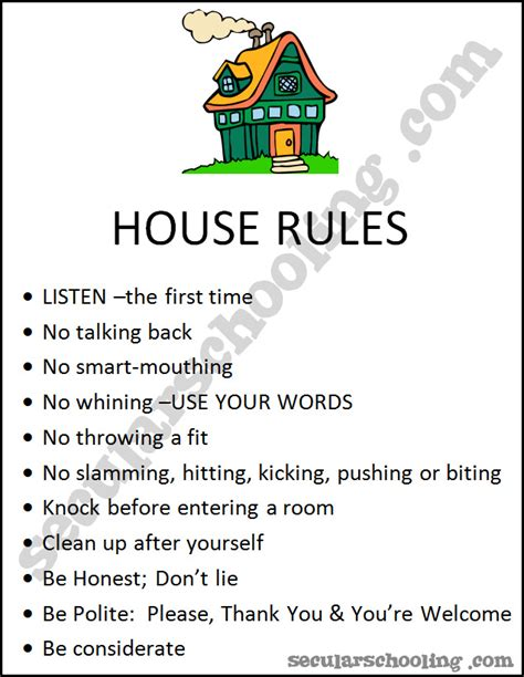 house rules my house rules pictures to pin on pinterest pinsdaddy