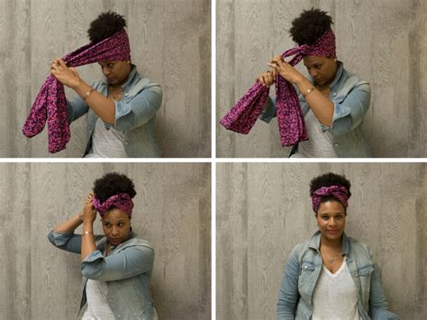 Rok Headwrap How To Tie A Headwrap In Four Fabulous Ways Huffpost