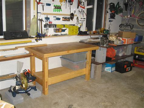cool work bench weekend workbench