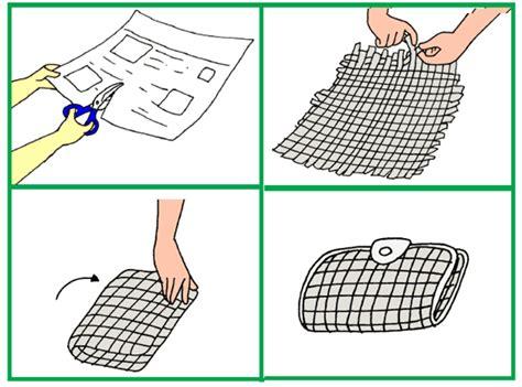 Dompet Daur Ulang Membuat Dompet Dari Anyaman Kertas Mikirbae