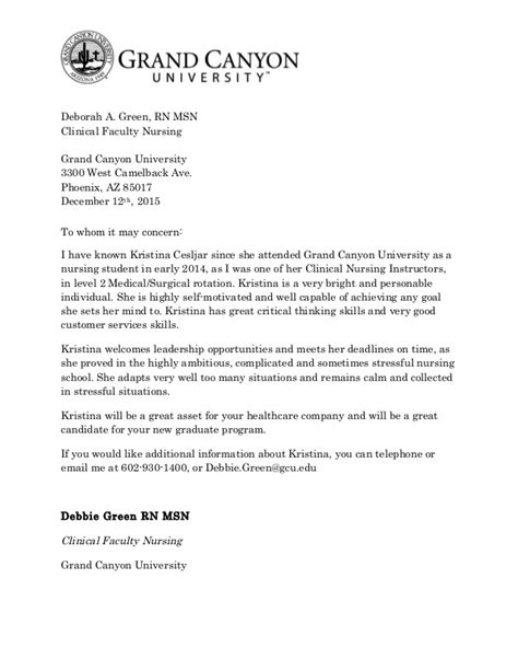 Recommendation Letter Uw Recommendation Letter For Cesljar