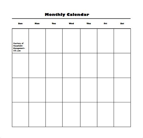 calendar template pdf blank calendar template 15 free docements in pdf
