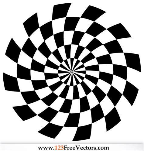 pattern vector spiral free download spiral optical illusion vector download free vector art