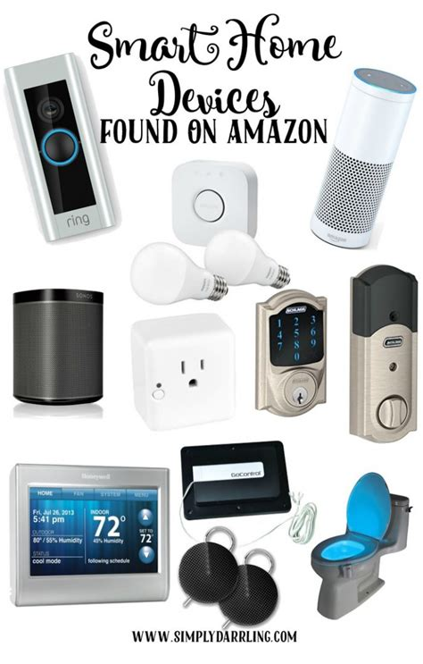 Smart Home Devices by Awesome Smart Home Devices Found On Amazon Simply Darr Ling
