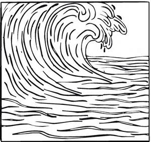 waves coloring pages free coloring pages of the great wave