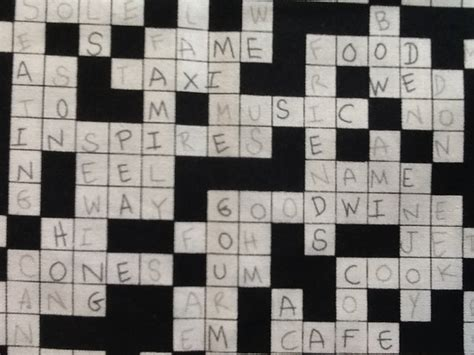 Upholstery Material Crossword Clue by Crossword Newspaper Nytimes Puzzle Cotton Fabric