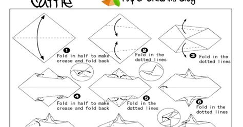 How To Make An Origami Cow - cow origami paper origami guide