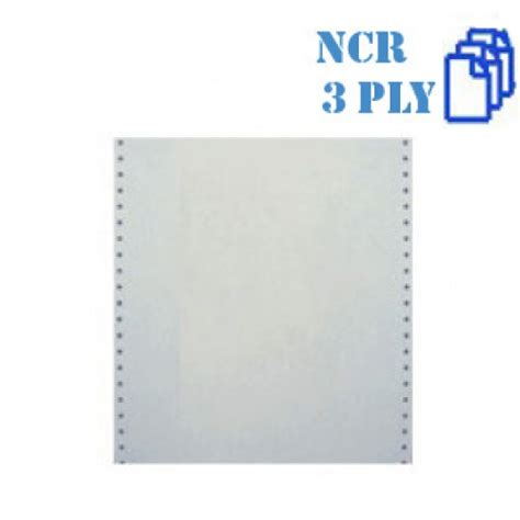 Kertas Ncr 3 Ply 9 5 Quot X 11 Quot Computer Form 3 Ply Ncr