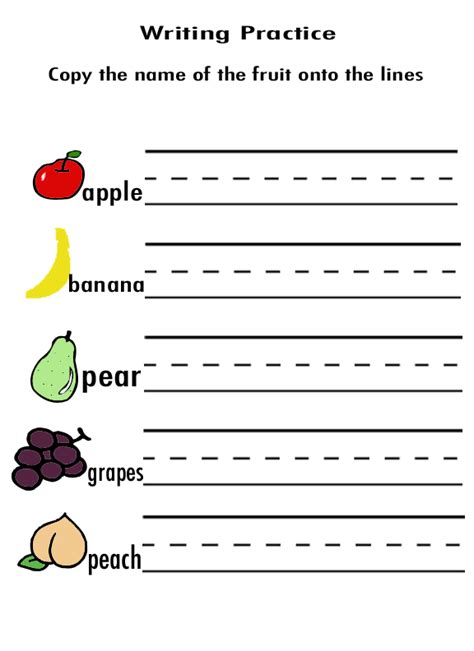 kindergarten activities writing practice handwriting sheets for preschoolers alyssa cuni