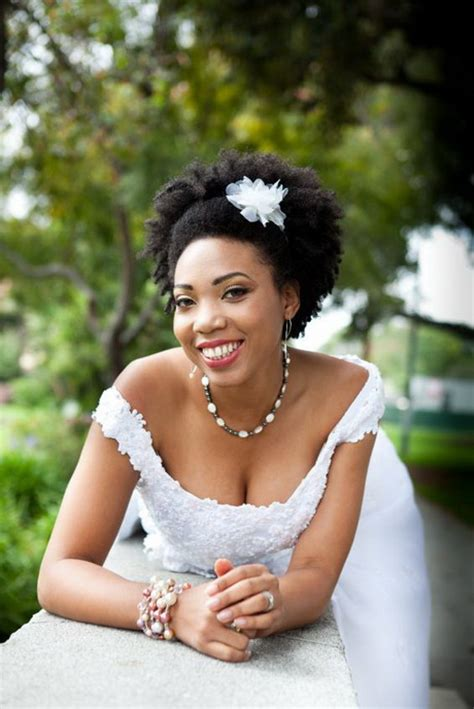 wedding hairstyles natural afro hair african bridal hairstyles