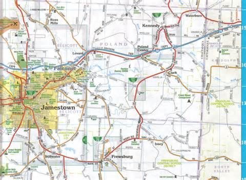 jamestown colorado map chautauqua county 171 jimapco