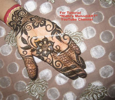 henna tattoo designs in dubai easy 6 dubai style mehndi designs for with step by