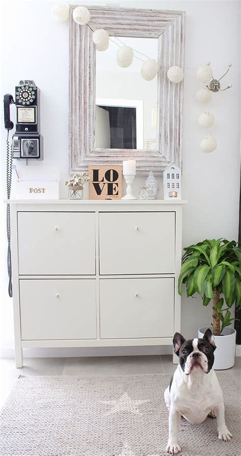 ikea hemnes shoe cabinet hack boho deco chic cabinets entryway and boho
