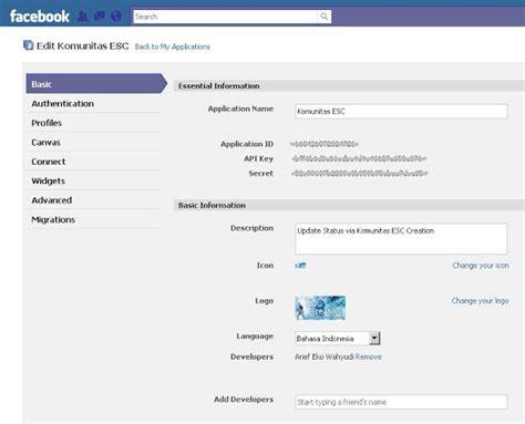 cara membuat status facebook via iphone cara buat update status facebook via blackberry iphone