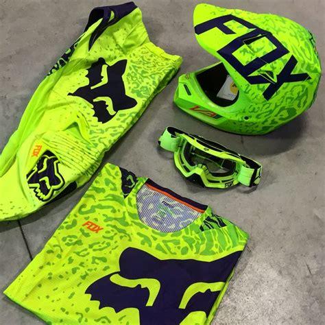 neon motocross gear collection foxracing 2016 fox 360 cauz neon
