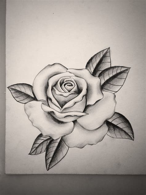 rose tattoo tumblr black and grey by mike attack instagram mikeattack