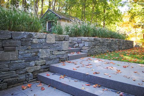 ct whiteline granite retaining walls