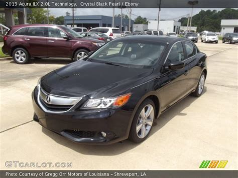 crystal black pearl 2013 acura ilx 2 0l technology