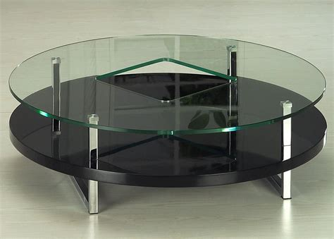 black living room table modern coffee table