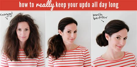 How To Keep Hair by How To Really Keep Your Updo All Day Whoorl