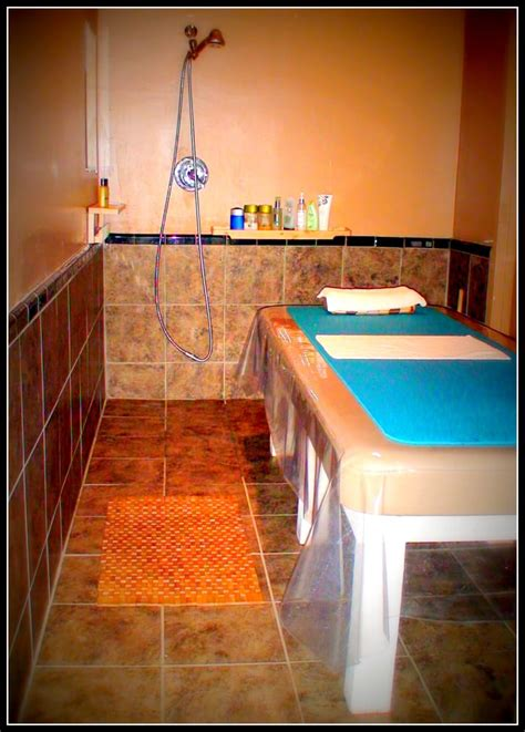 What Is Table Shower by Traditional Korean Table Shower And Scrub Room Yelp