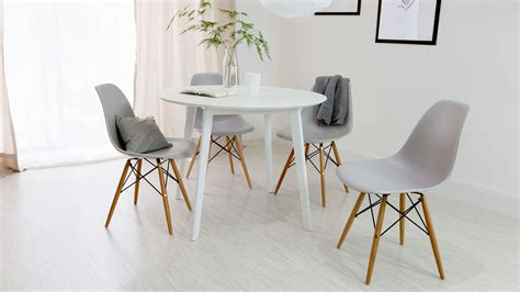 modern oak dining chairs