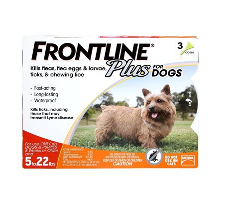 frontline plus for dogs 22 lbs frontline plus for dogs