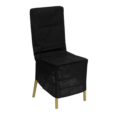 chair storage covers black fabric chiavari chair storage cover