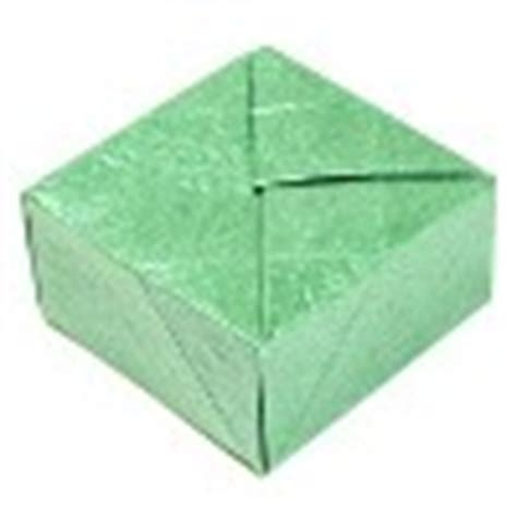 Origami Closed Box - how to make 3d origami models