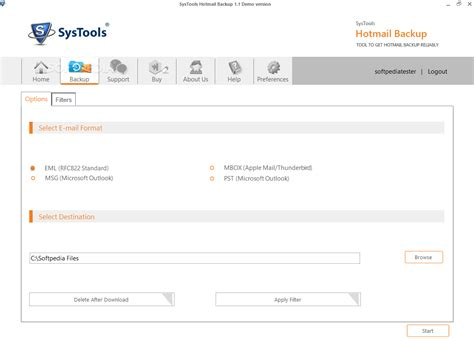 format email hotmail systools hotmail backup download
