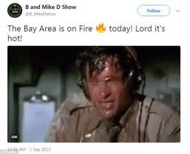 The Heat Movie Memes - residents san francisco heat wave create hilarious memes