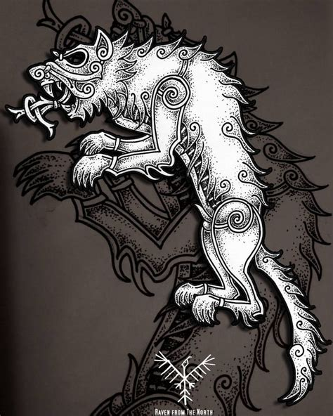 collection of 25 viking wolf design top 25 best norse mythology ideas on