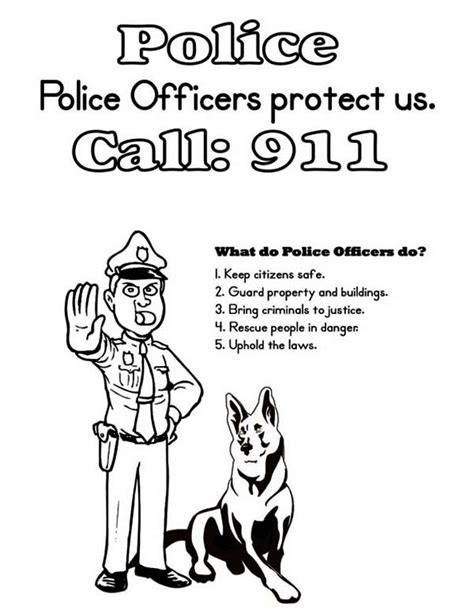 police k 9 coloring pages pictures to pin on pinterest