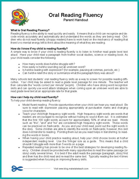 Parent Letter Novel Study 28 free handouts for teachers list of absent