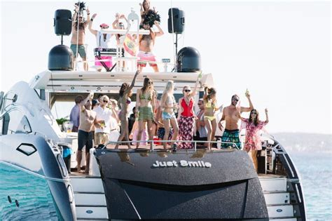 party boat hire reading sunseeker 82 predator luxurious charter yacht in ibiza