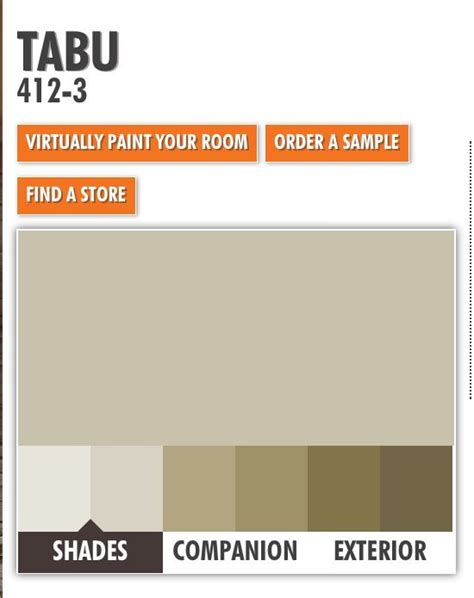 ppg porter tabu paint color scheme new house color schemes paint colors and paint