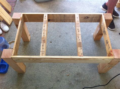 How To Make A Coffee Table From Pallets Pallet Coffee Table Bits Of