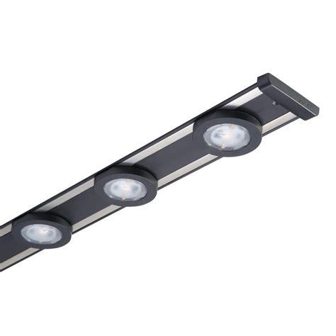 halo led cabinet lighting halo 18 in led black cabinet puck light kit