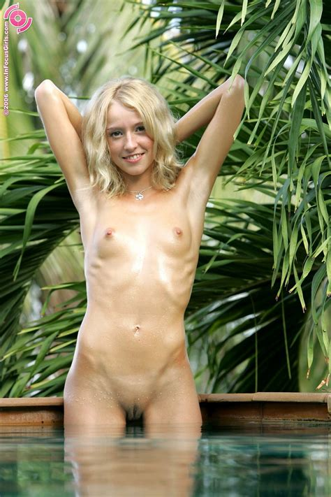 Infocusgirls True Beauty Hanna See A Tiny Little Girl Skinny Dip Nude Gallery