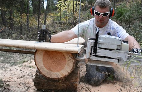 should you do a diy chainsaw mill or buy one