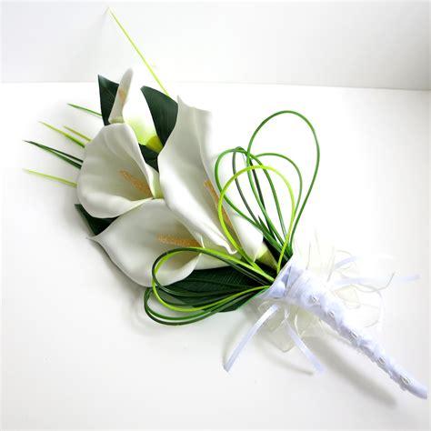 Wedding Bouquet Design by Artificial Calla Lilies Wedding Bouquets