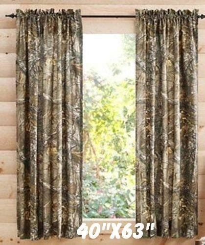 cheap camo curtains realtree xtra camo 40 x 63 curtain panel set of 2