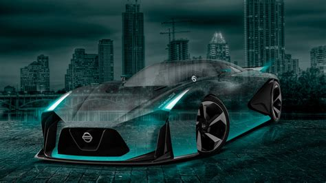 neon nissan nissan gtr 2020 concept city car 2015 wallpapers