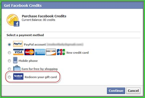 Gift Cards Facebook Credits - facebook credits gift cards mafia wars loot lady